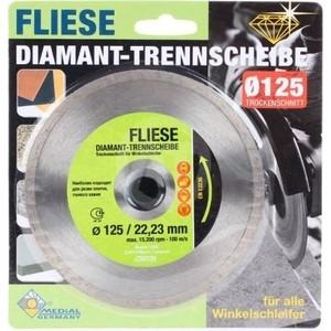 Алмазный диск Fubag Medial по керамике 125/22.23мм (VN11260) диск по керамике irwin 180mm 25 4