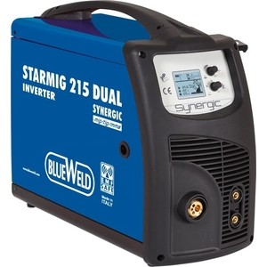 Инверторный сварочный полуавтомат BlueWeld Starmig 215 Dual Synergic цена