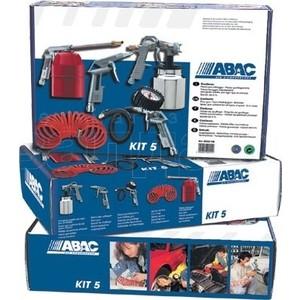 Набор пневмоинструмента ABAC 5 предметов (8222423) краскораспылитель abac ab161 8973005971