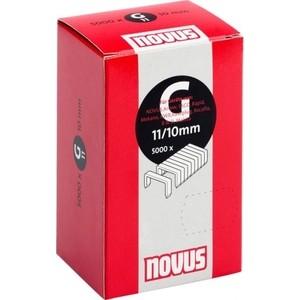 Скобы для степлера Novus 11/10 5000шт (042-0529)