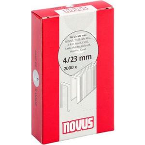 Скобы для степлера Novus 4/23 2000шт (042-0595) скобы novus 4 30 1100шт 042 0461