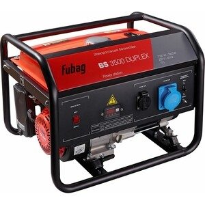 Генератор бензиновый Fubag BS 3500 Duplex fubag bs 2200