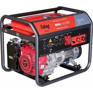 Генератор бензиновый сварочный Fubag WHS 210 DDC сварочный генератор dde сварочный инверторный генератор dpw160i