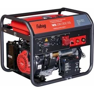 Генератор бензиновый сварочный Fubag WS 230 DDC ES сварочный генератор dde сварочный инверторный генератор dpw160i