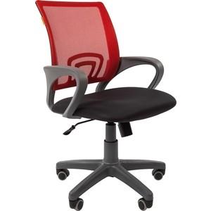 Офисноекресло Chairman 696 серый пластик TW-12/TW-69 красный офисноекресло chairman 698 серый пластик tw красный