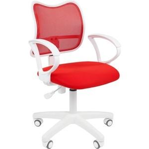 Офисноекресло Chairman 450 LT белый пластик TW-19/TW-69 красный supra mw g2119 tw