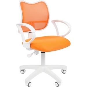 Офисноекресло Chairman 450 LT белый пластик TW-16/TW-66 оранжевый supra mw g2119 tw