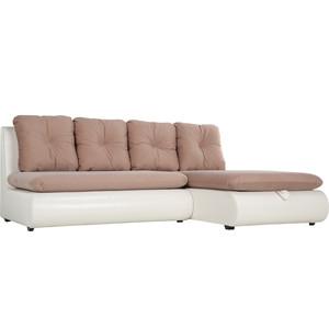 Диван угловой SettySet Кормак мини (Рио мини) бежево-белый диван угловой settyset кормак рио фиолетовый