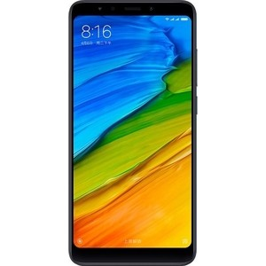 Смартфон Xiaomi Redmi 5 2Gb/16Gb Black xiaomi redmi 6a 2gb 16gb gold смартфон