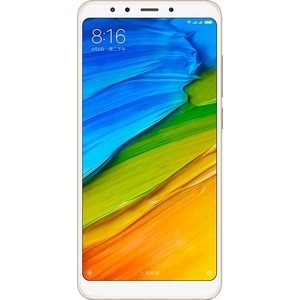 Смартфон Xiaomi Redmi 5 2Gb/16Gb Gold смартфон xiaomi redmi 5 2 16gb blue