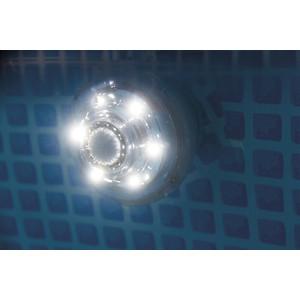 Светодиодная подсветка Intex 38 см гидроэлектрическая 28691 светодиодная подсветка intex плавающая на солнечной батарее 28695