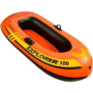 Лодка надувная Intex Explorer 100 (до 55кг) 147x84x36 см 58329 intex explorer 200 set