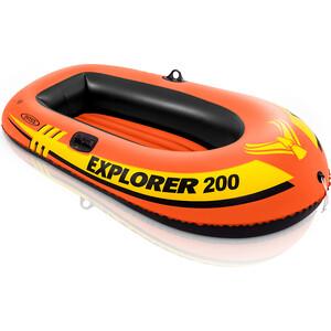 Лодка надувная Intex Explorer 200 (до 95кг) 185х94х41 см 58330 intex надувная двухместная лодка intex explorer без насоса без весел 1vtj x vd