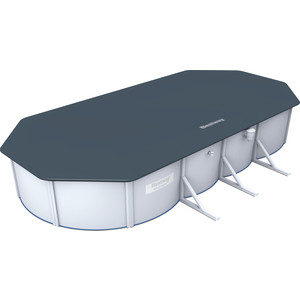Тент Bestway для стального бассейна 740х360х120 см (58455) лодка bestway mariner3 297х127х46 см 68373