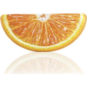 Надувной плотик Intex Апельсиновая долька 178х85 см 58763