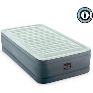 Надувная кровать Intex Premaire Elevated Airbed 99х191х46 см встроенный насос 220V (64902) насос ручной intex double quick 30 см