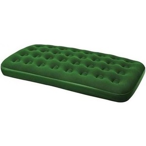 Надувной матрас Bestway Flocked Air Bed(Twin) 188х99х22 см 67447 кровать relax flocked air bed double 191x137x22см синий 20256