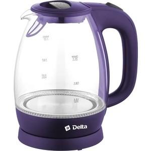 Чайник электрический Delta DL-1203 фиолетовый transport phenomena in porous media iii