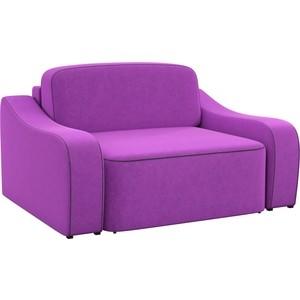 Кресло АртМебель Триумф микровельвет фиолетовый.