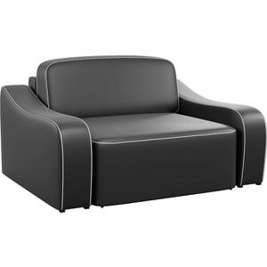 Кресло АртМебель Триумф эко-кожа черный.