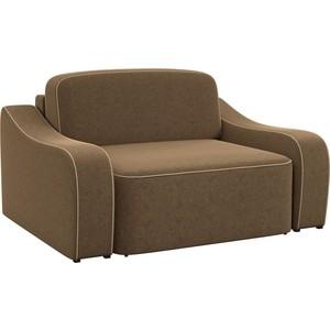 Кресло АртМебель Триумф микровельвет коричневый.