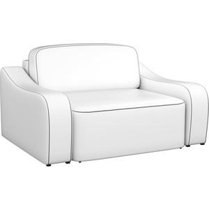 Кресло АртМебель Триумф эко-кожа белый.