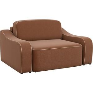 Кресло АртМебель Триумф рогожка коричневый.