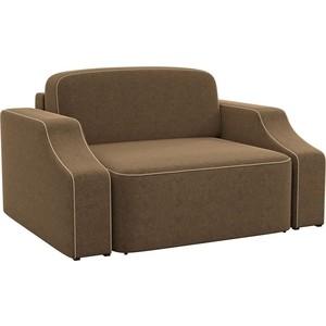 Кресло АртМебель Триумф slide микровельвет коричневый.