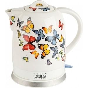 Чайник электрический Delta DL-1233A Бабочки чайник delta dl 1329