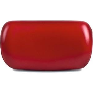 Подголовник для ванны 1Marka Eka на присосках, красный (4604613300210)