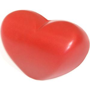 Подголовник для ванны 1Marka Love на присосках, красный (4604613309855)
