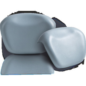 Подголовник для ванны 1Marka Relax накладной, синий (4604613001827)