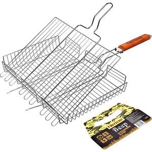 все цены на Решетка-гриль Boyscout универсальная большая (61304) онлайн