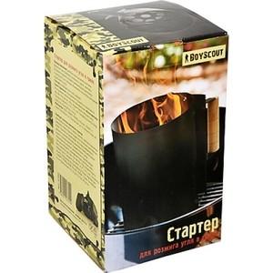 Стартер для розжига угля Boyscout 3,5 литра O16х27 см (61402) складной нож boyscout рейнджер 11 5 20см в чехле 61287
