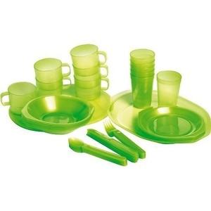 Пластиковый набор Forester Пластиковый набор для пикника на 6 персон в чехле (C813) наборы для пикника