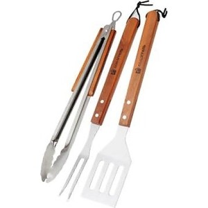 Набор для барбекю Союзгриль 3 предмета лопатка, щипцы, вилка (N1-A03) столовое серебро аргента набор мишка 3 предмета кружка ложка вилка