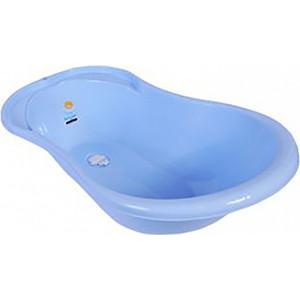 Ванночка Little Angel Ангел с термометром и сливом 84см голубой УТ000003579