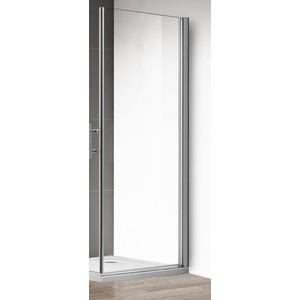 Боковая панель Cezares ECO-100-FIX-C-Cr профиль хром, стекло прозрачное