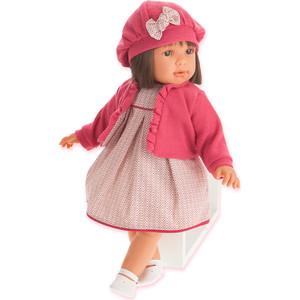 Кукла ANTONIO JUAN Аделина в красном, 55 см (1824R)