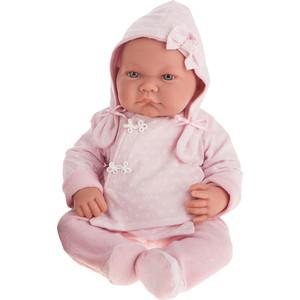 Кукла ANTONIO JUAN Алисия в розовом, 40 см (3368P)
