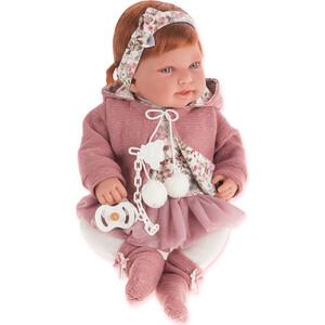 Кукла ANTONIO JUAN Саманта в розовом, 40 см (3370P)