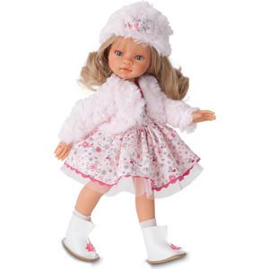 Кукла ANTONIO JUAN Эмили зимний образ, блондинка, 33 см (2582Bl)