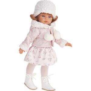 Кукла ANTONIO JUAN Эльвира зимний образ, рыжая, 33см (2586W)