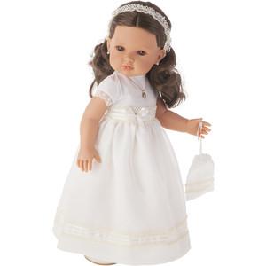 Кукла ANTONIO JUAN Белла Первое причастие, брюнетка в кремовом, 45см (2800BR)