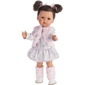 Кукла ANTONIO JUAN Белла в розовом жилете , 45см (2807P)