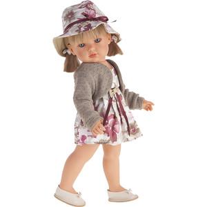 Кукла ANTONIO JUAN Белла в шляпке, блондинка, 45 см (2808P)