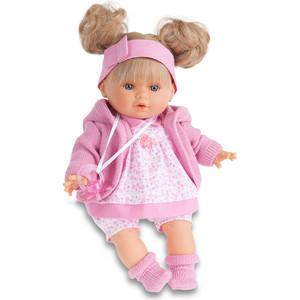 Кукла ANTONIO JUAN Кристи в розовом, плачущая, 30 см (1337P)
