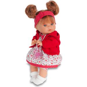 Кукла ANTONIO JUAN Кристи в красном, плачущая, 30 см (1337R)