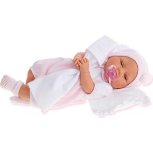 Кукла ANTONIO JUAN Габи в розовом, с открывающимися глазами, плачущая, 37 см (1444P)
