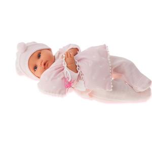 Кукла ANTONIO JUAN Марита в розовом, плачущая, 42 см (1670P)